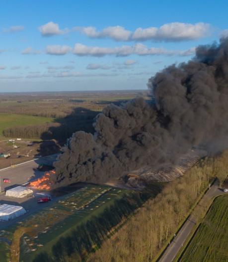 Gigantische afvalbrand bij Wijster was 'atypisch': geen reden voor nieuwe voorschriften