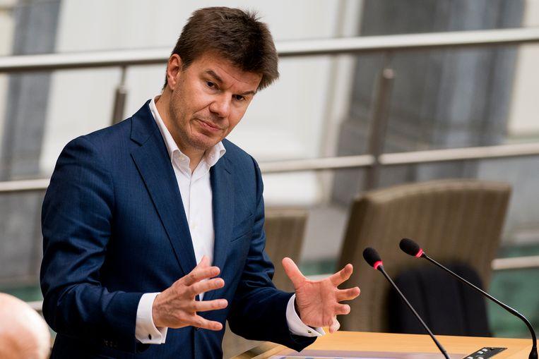 Minister Sven Gatz. Beeld BELGA