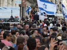 Duizenden Fransen betuigen steun aan Israël