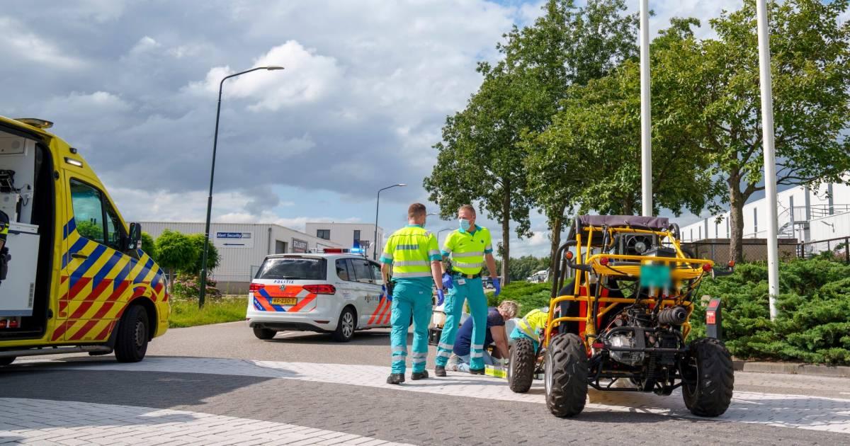 Eindhovenaar overlijdt na ongeval met buggy in Raamsdonksveer.