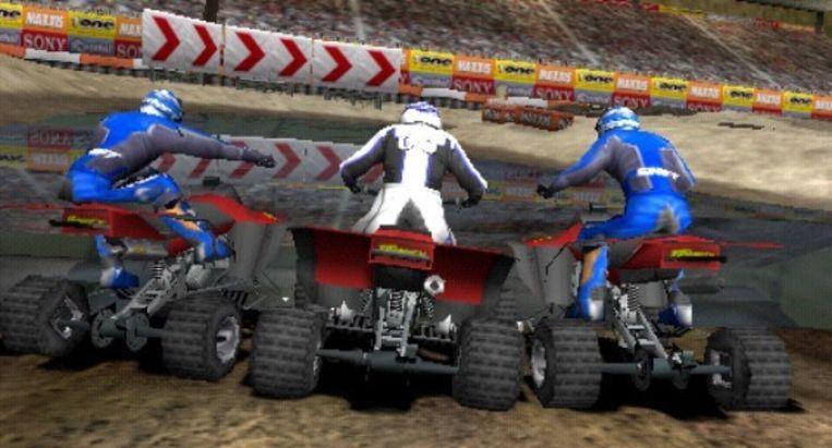 Quadracen in ATV Offroad Fury Pro (PSP). Beeld UNKNOWN