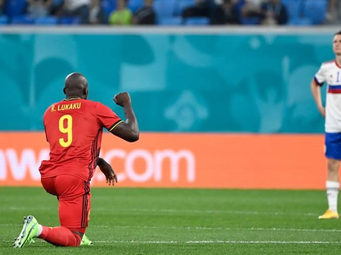 UEFA steunt protest tegen racisme van Rode Duivels en veroordeelt boegeroep Russische fans