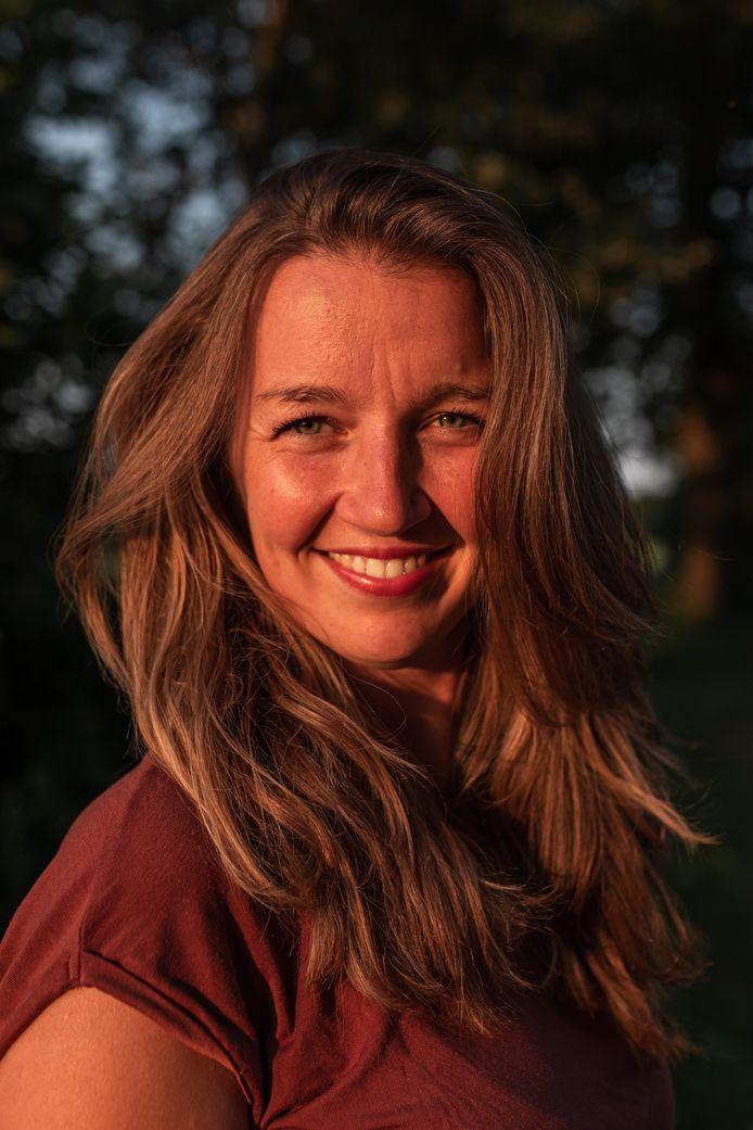 Verloskundige Margot van Dijk.