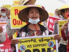 Verzet tegen junta Myanmar verenigt zich in een 'regering van nationale eenheid'