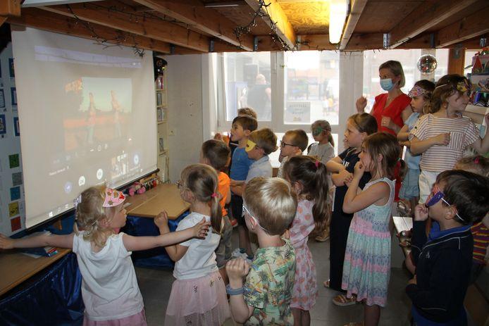 De grootste livestream van Blitz in de Marialoopschool.
