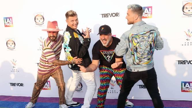 """Leden Backstreet Boys en *NSYNC bundelen krachten: """"Wij zijn het dreamteam"""""""
