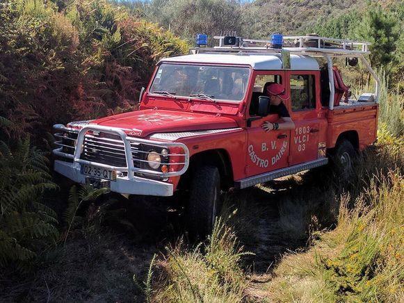 Het wagenparkt van de Portugese brandweer valt in niks te vergelijken met dat van pakweg Lede.