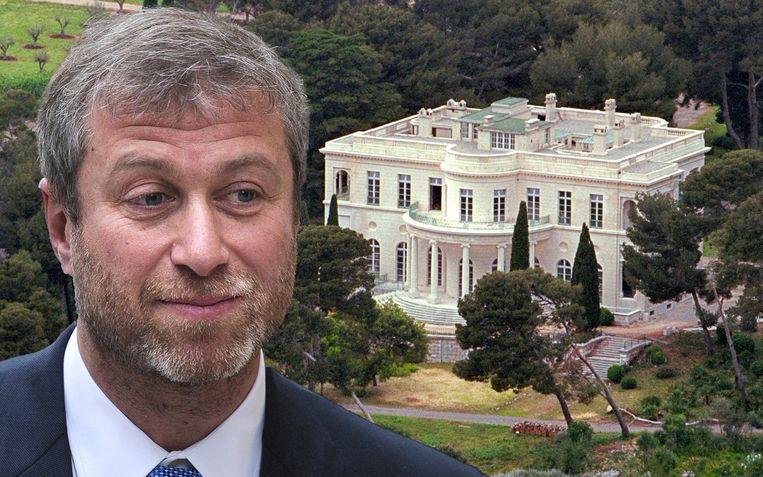 Volgens de fiscus betaalt Abramovich te weinig vermogensbelasting voor zijn buitenverblijf aan de Franse Côte d'Azur.