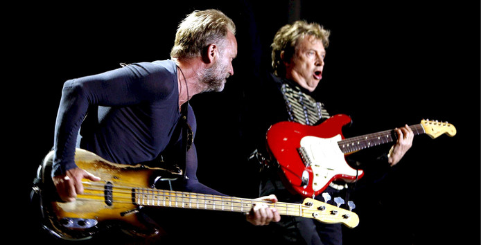 Andy Summers (rechts).