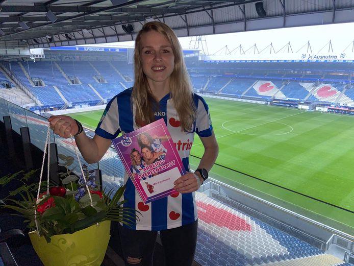 Merel Bormans tekent bij Heerenveen.