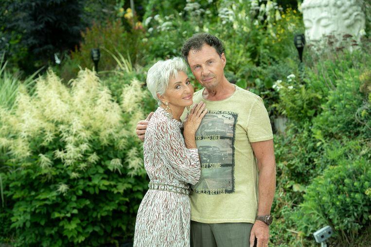 Martine Jonckheere en partner Filip Moortgat.