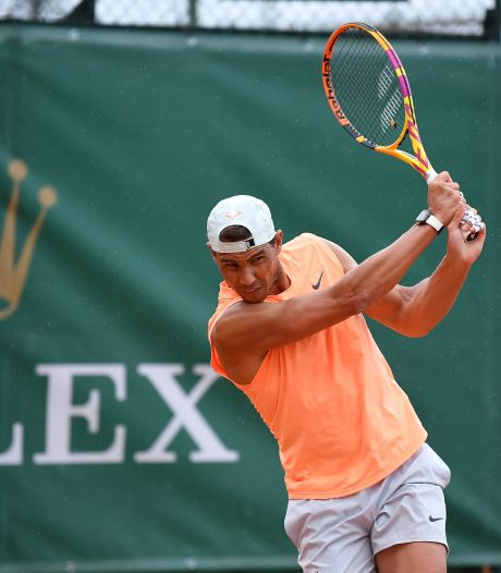 """Rafael Nadal se dit """"en confiance"""" pour son retour à la compétition"""