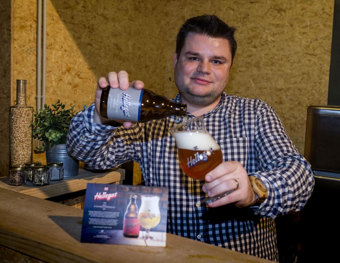 Olivier Op de Beeck van Brouwerij De Klem zorgt voor het bier.
