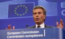 Le commissaire européen à l'Economie numérique à Bruxelles, le 13 juin 2013.