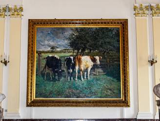 'De drie koeien' van schilder Alfred Verwee keren terug naar stadhuis