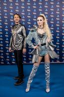 Regi en Camille op het Gala van de Gouden K's