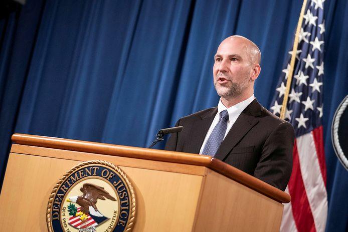 Assistent-directeur van de FBI Steven D'Antuono.