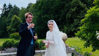Kleinzoon Roald Dahl trouwt in intieme kring met Jordaanse prinses