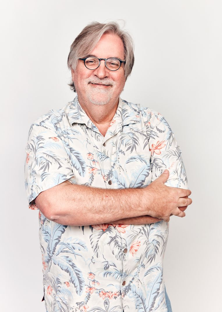 Matt Groening, pencipta The Simpsons.  Foto kontur oleh Getty Images