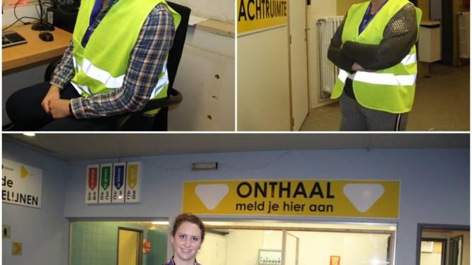 """Eerste 205 zorgverstrekkers zijn gevaccineerd in Diksmuide, vrijwilligers staan paraat: """"Het gespreksonderwerp? Dit zwembad"""""""