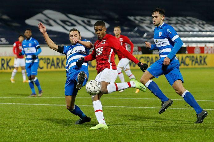 AZ stelde afgelopen weekend teleur met een gelijkspel tegen PEC Zwolle.