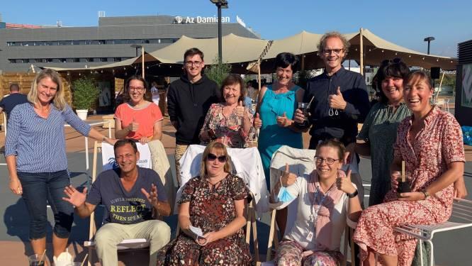 Az Damiaan bedankt medewerkers tijdens Rooftop Drink