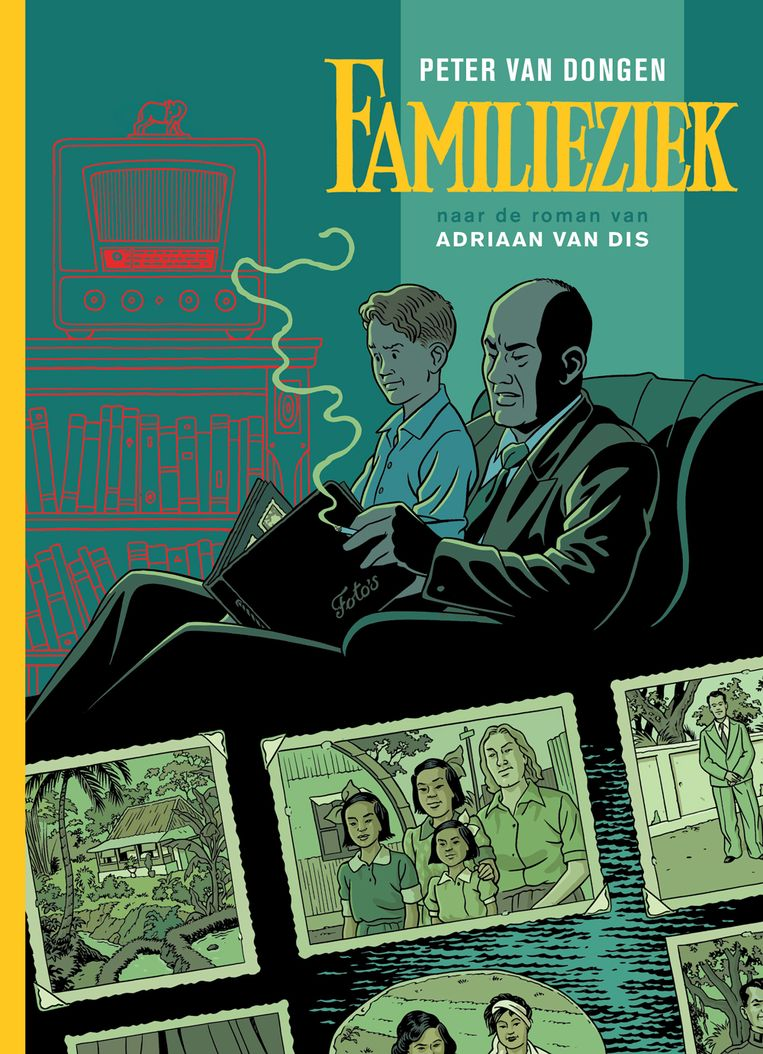 De cover van 'Familieziek'. Beeld rv