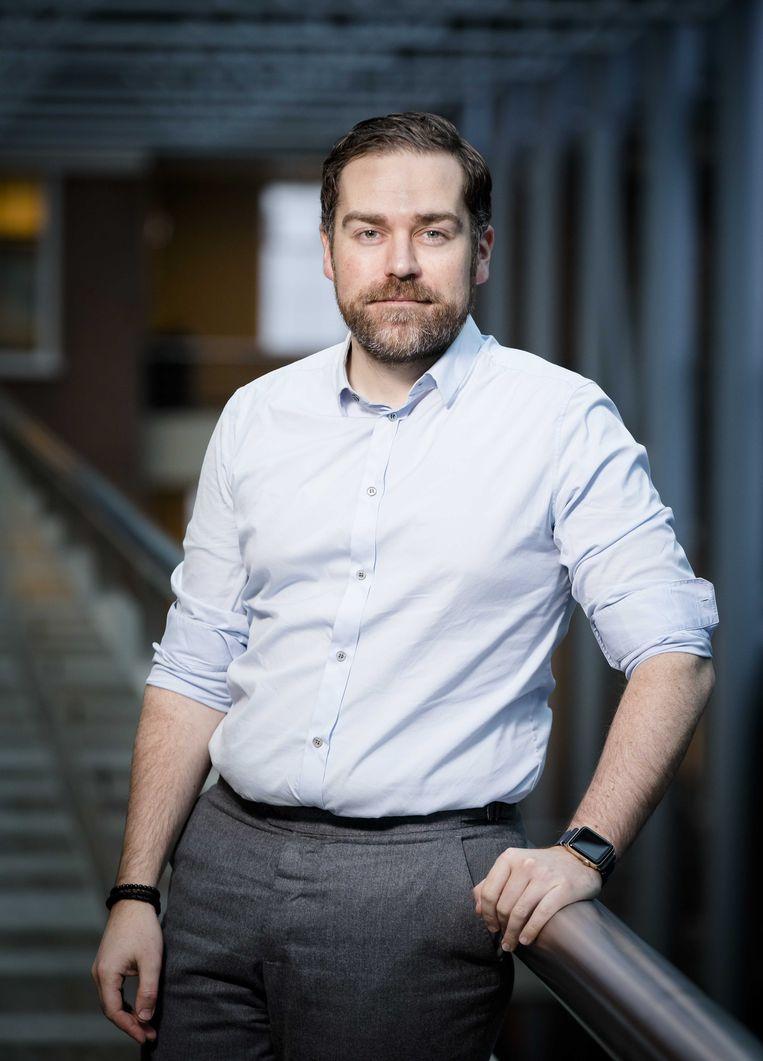 Klaas Dijkhoff, staatssecretaris van veiligheid en justitie. Beeld ANP