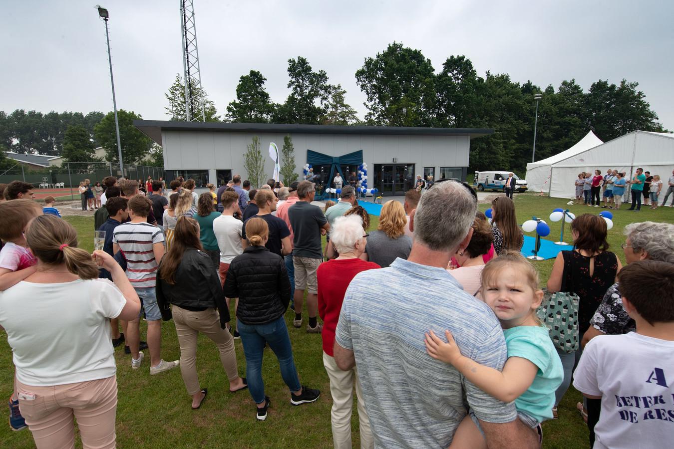 Het MFS in Espel wordt officieel geopend.