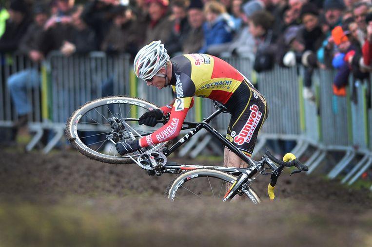 Pech voor Belgisch Kampioen Vantornhout. Beeld BELGA