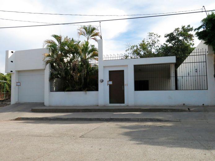 Een van de huizen van El Chapo, woensdag verloot door de Mexicaanse regering.