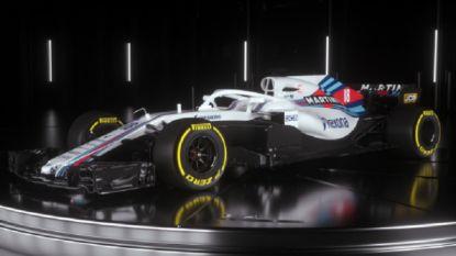 Team Williams stelt nieuwe Formule 1-bolide voor