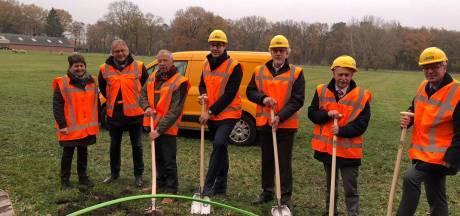 Aanleg glasvezel op Noord-Veluwe en buitengebied Kampen begonnen