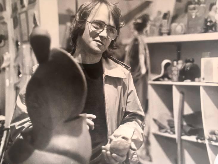 Beeldhouwer Frans (73) maakte kunstwerk voor Mall of the Netherlands, maar kon dat zelf niet meer zien