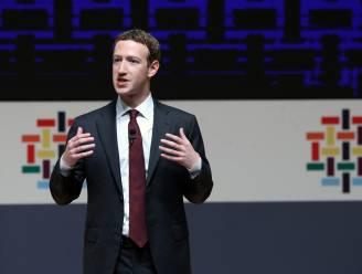 Facebook verwijdert posts van oprichter Zuckerberg