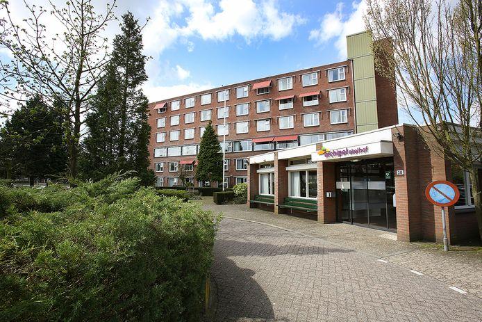 Ekelhof aan de Sint-Claralaan in Eindhoven, voormalig zorgcentrum van Archipel