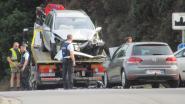 Frontale klap in Bellestraat: twee auto's rijp voor schroothoop
