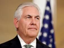 Rex Tillerson demande à Moscou de réfléchir à son soutien à Assad