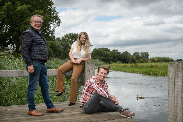 Denise en Rutger vormen de derde generatie Van de Maat. Samen met vader Bert runnen zij  Vakantiepark 't Mölke in Zuna.