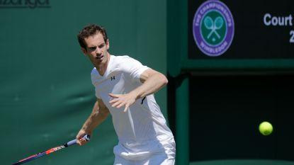 """Murray geeft forfait voor Wimbledon - Wickmayer kan rekenen op Darcis - Goffin: """"Dit is het mooiste toernooi"""""""