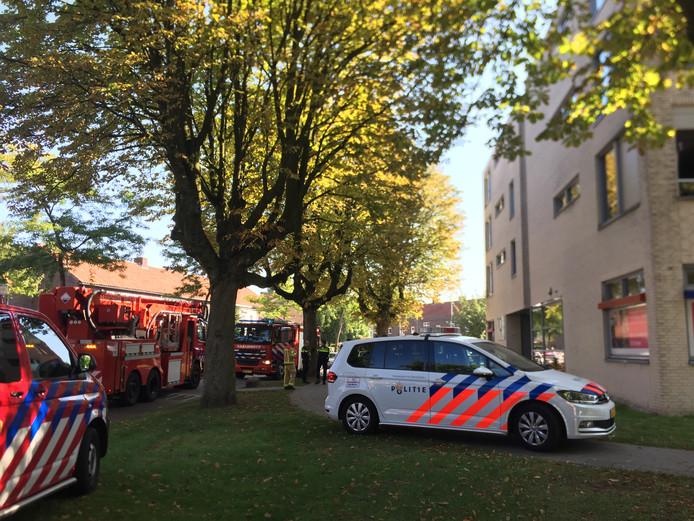 Brand in seniorenflat in Eindhoven.