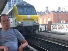 """Rolstoelgebruiker Kurt Vanhauwaert over toegankelijkheid van treinen, één jaar na zijn open brief: """"Niks veranderd, integendeel"""""""
