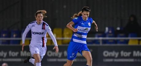 PEC Zwolle Vrouwen doet wat het moet doen tegen VV Alkmaar, al vallen de goals pas in het laatste kwartier
