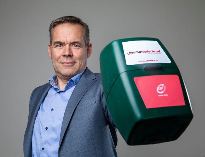Jan-Willem Förch, directeur van ReumaNederland.