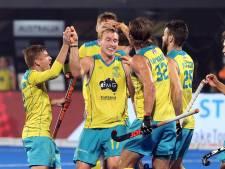 Hockeyers bij winst in halve finale tegen ijzersterk Australië
