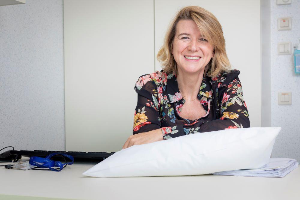 Neuroloog en slaapexpert Inge Declerq.