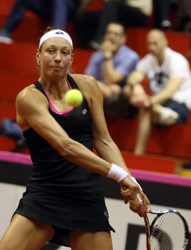 Yanina Wickmayer. Beeld Photo News