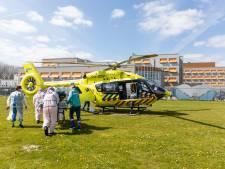 Coronapatiënt van Albert Schweitzer ziekenhuis met helikopter overgebracht naar Groningen