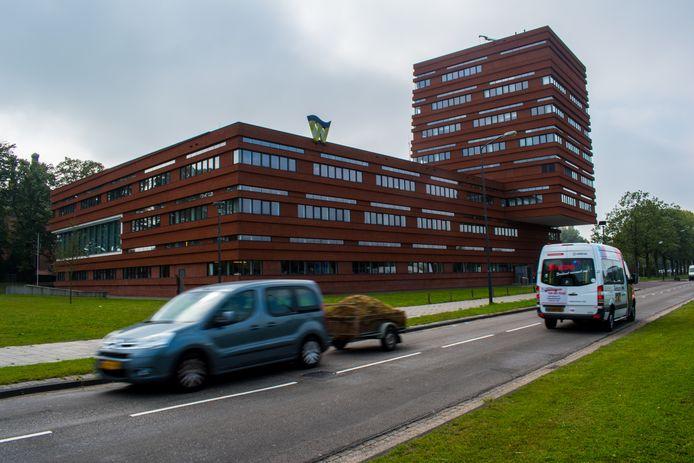 Het gemeentehuis van Waalwijk.