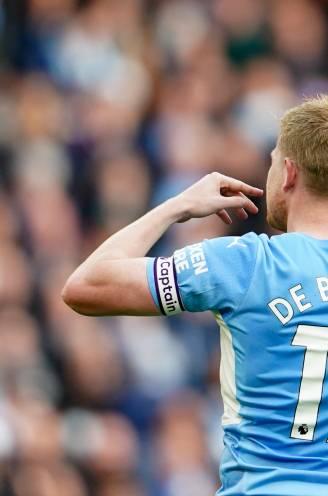 Aanvoerder De Bruyne helpt Man City met goal aan zege tegen Burnley